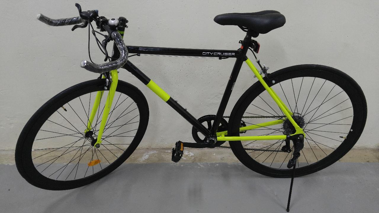 알루미늄 로드 블혼바 시마노 7단 자전거
