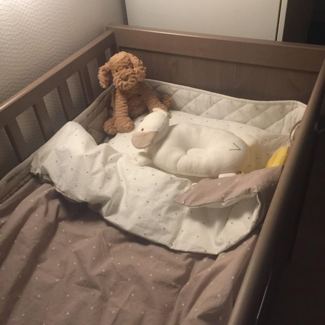 이케아 아기침대 (순드비크)