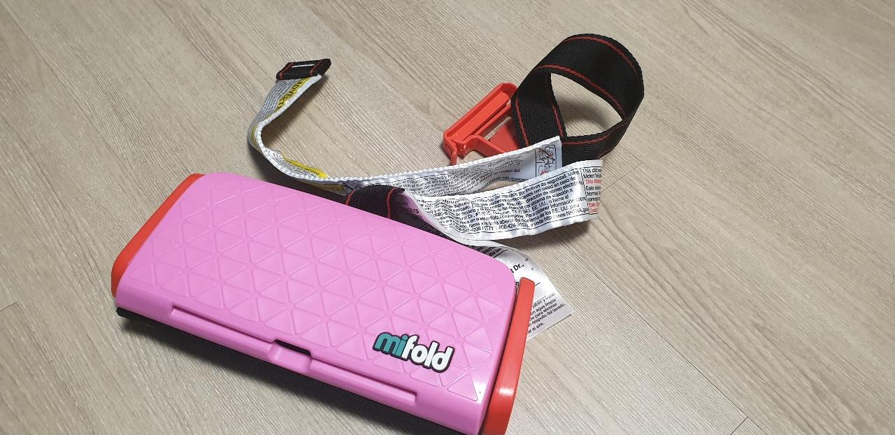mifold 휴대용카시트 팝니다