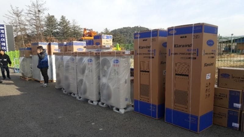원주 캐리어 에어컨 냉난방기 판매점 에어컨 설치 이전설치 냉매 보충 중고 매입 판매