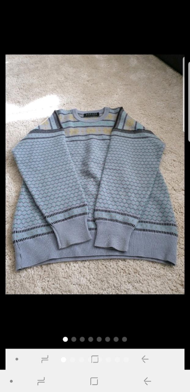 JAEGER (예거)  캐시미어 스웨터