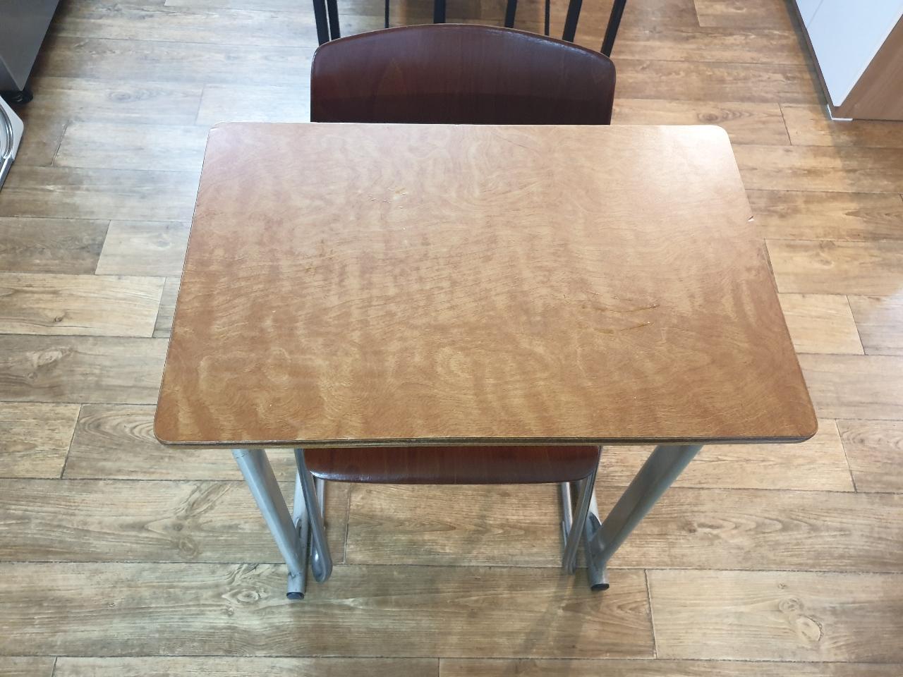 1인용 책상과 의자  학원책상 학교책상