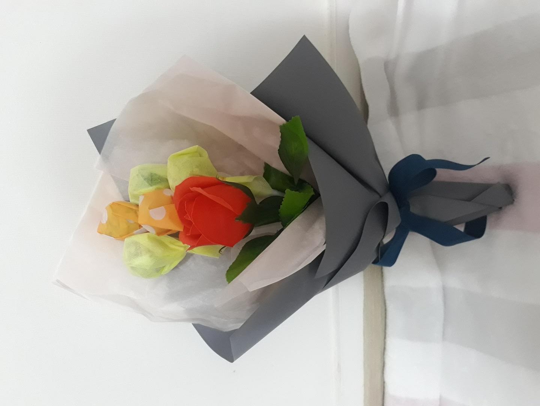 졸업식 사탕꽃다발
