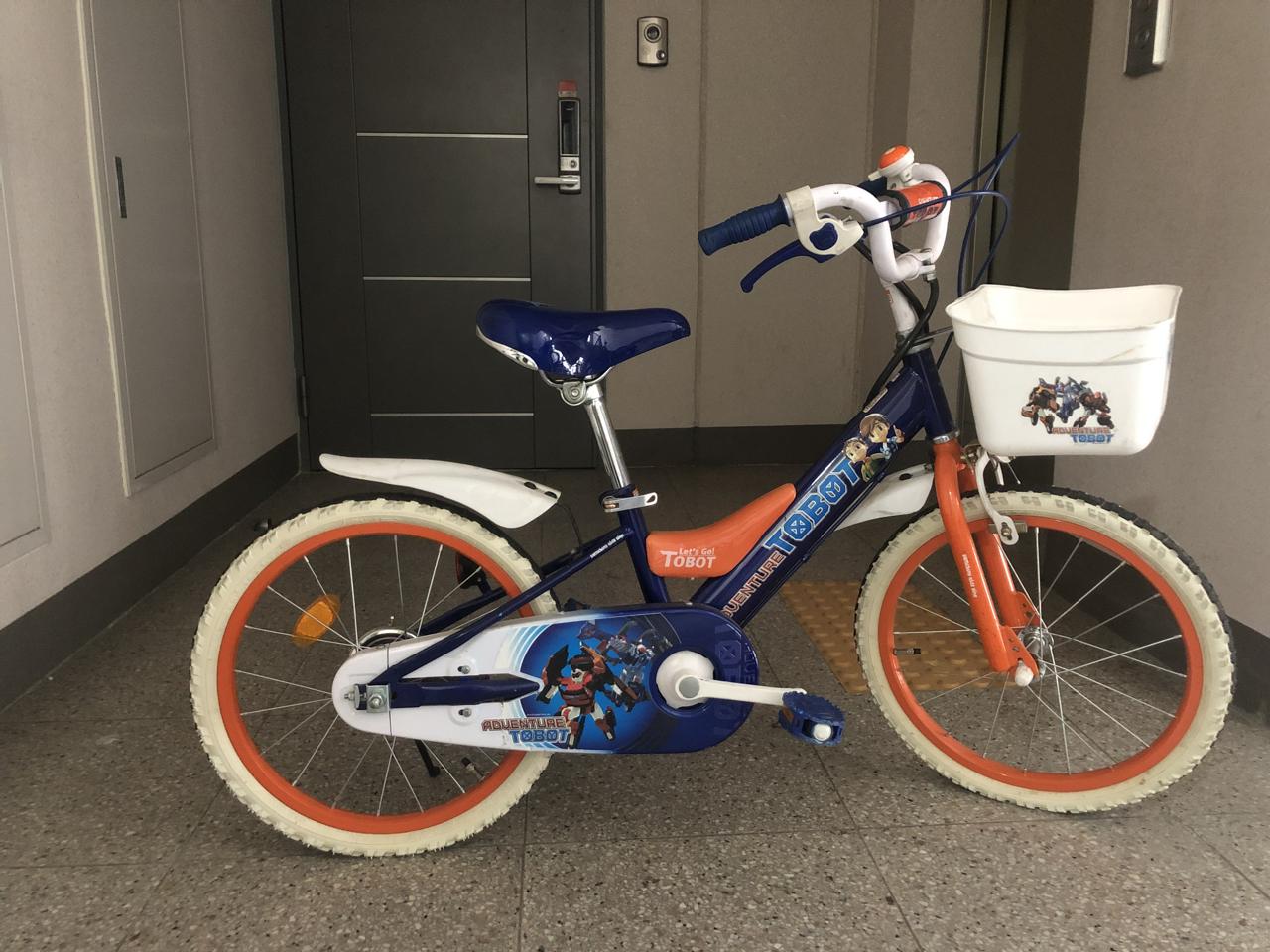 또봇자전거(삼천리자전거)18인치