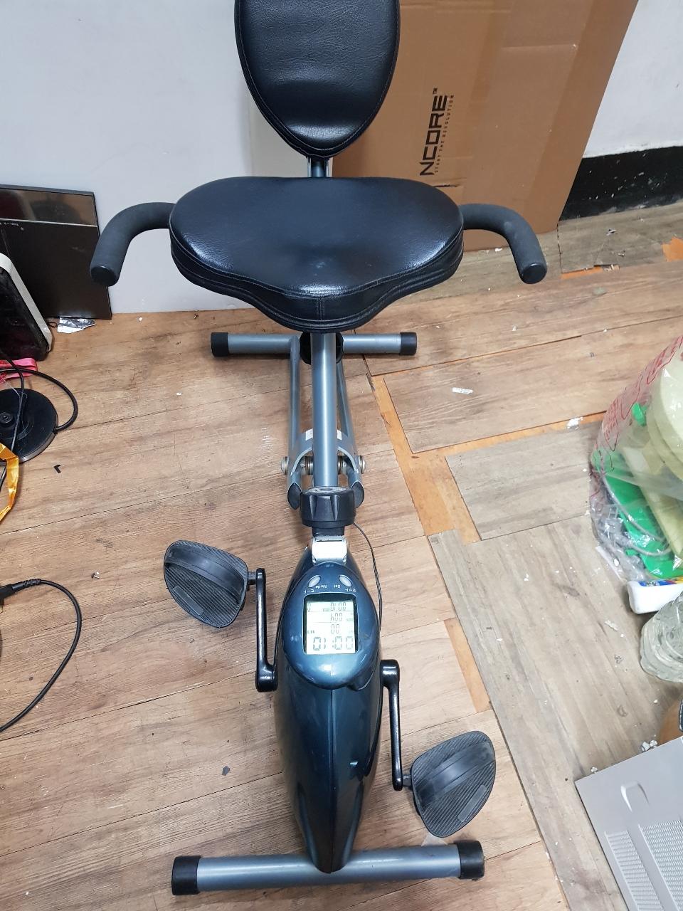 헬스자전거 앉아서 타는자전거 실내용  타이머 강약기능