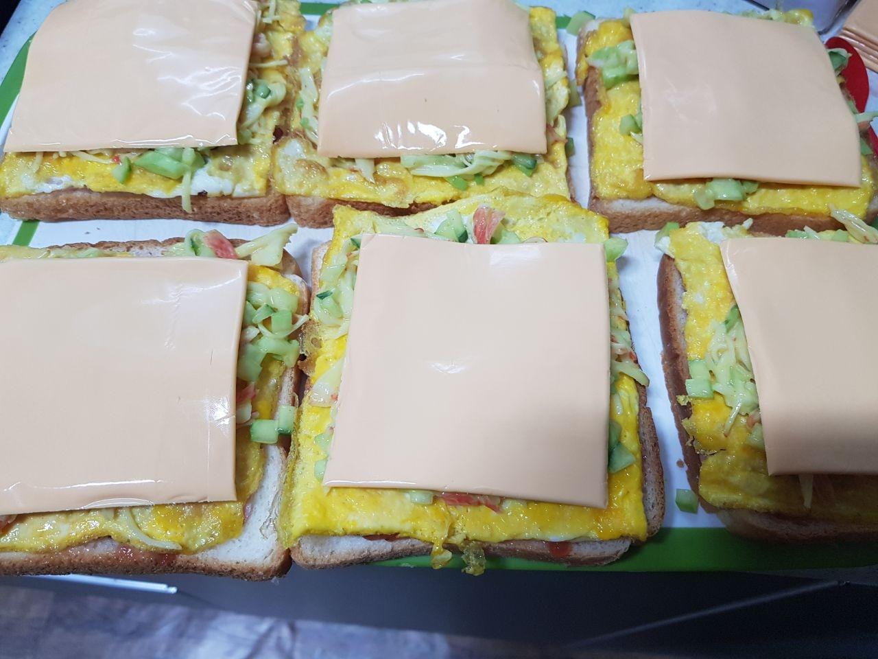 나만의 영양 샌드위치 만들기