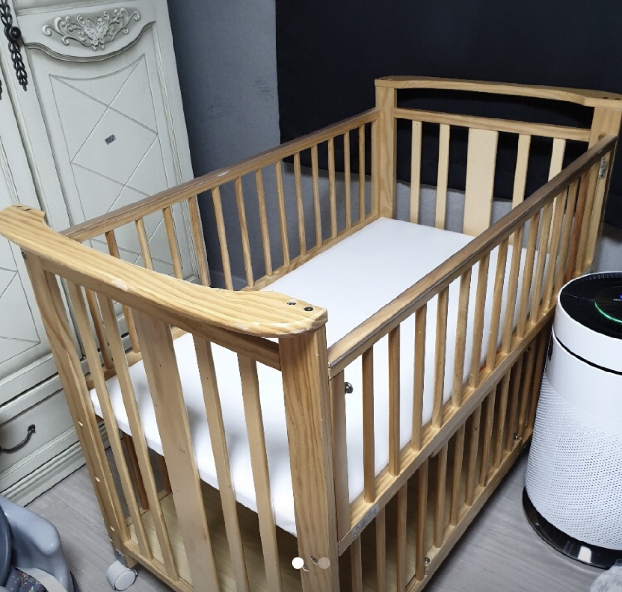 아기침대 국민아기보니침대범퍼포함