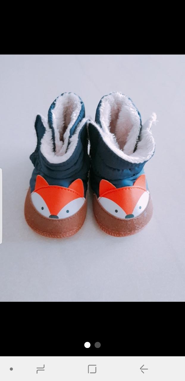 아기겨울신발