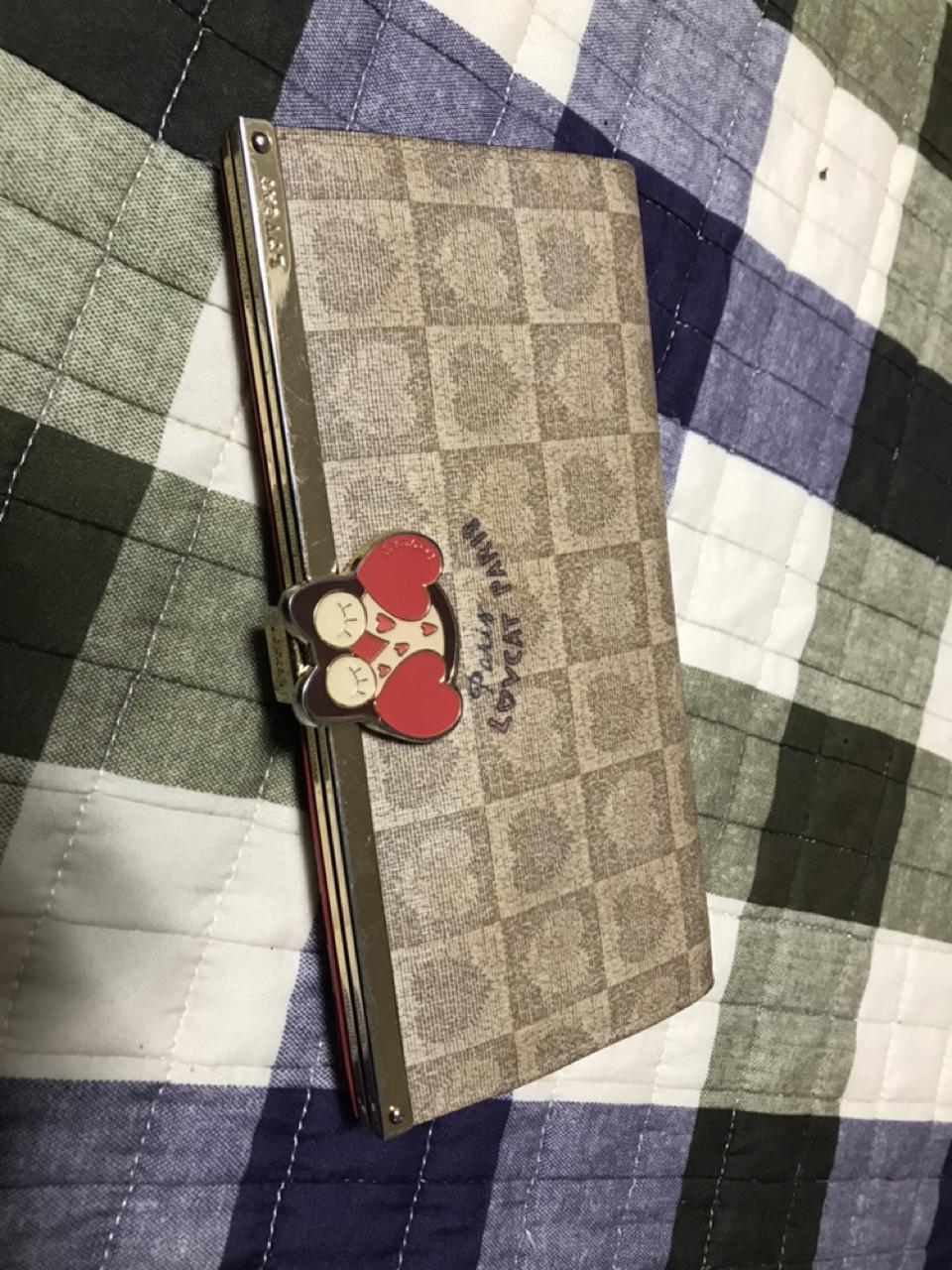러브캣 장지갑