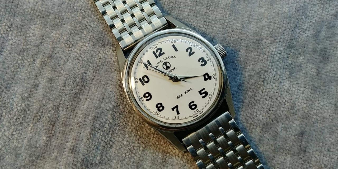 【최근오버홀】 엔틱 스위스 파브레루버 수동시계 팝니다. 프란시
