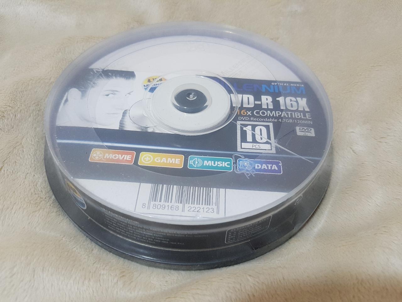 DVD-R 10p(새상품)