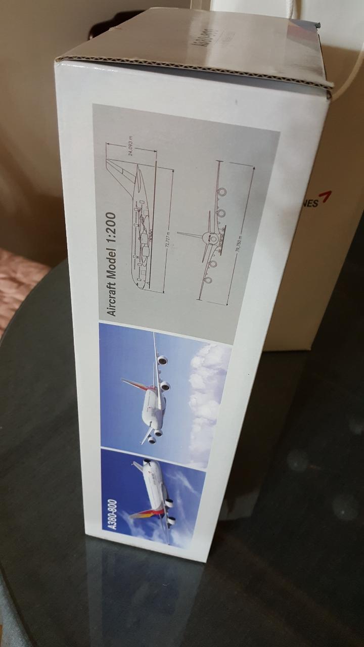 아시아나항공 A380 항공기 모델 새것