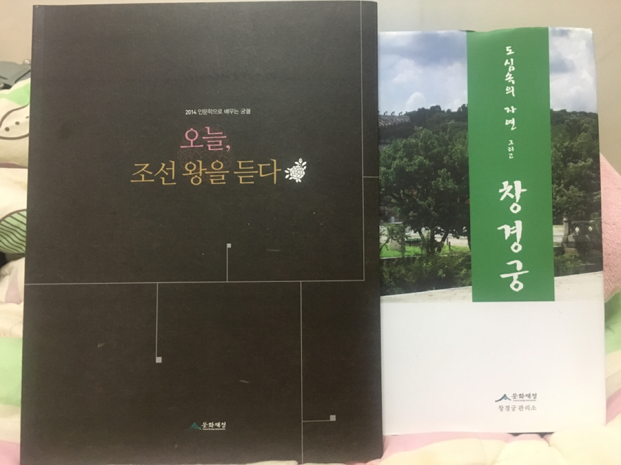 창경궁 사진집 & 궁궐 세미나 책