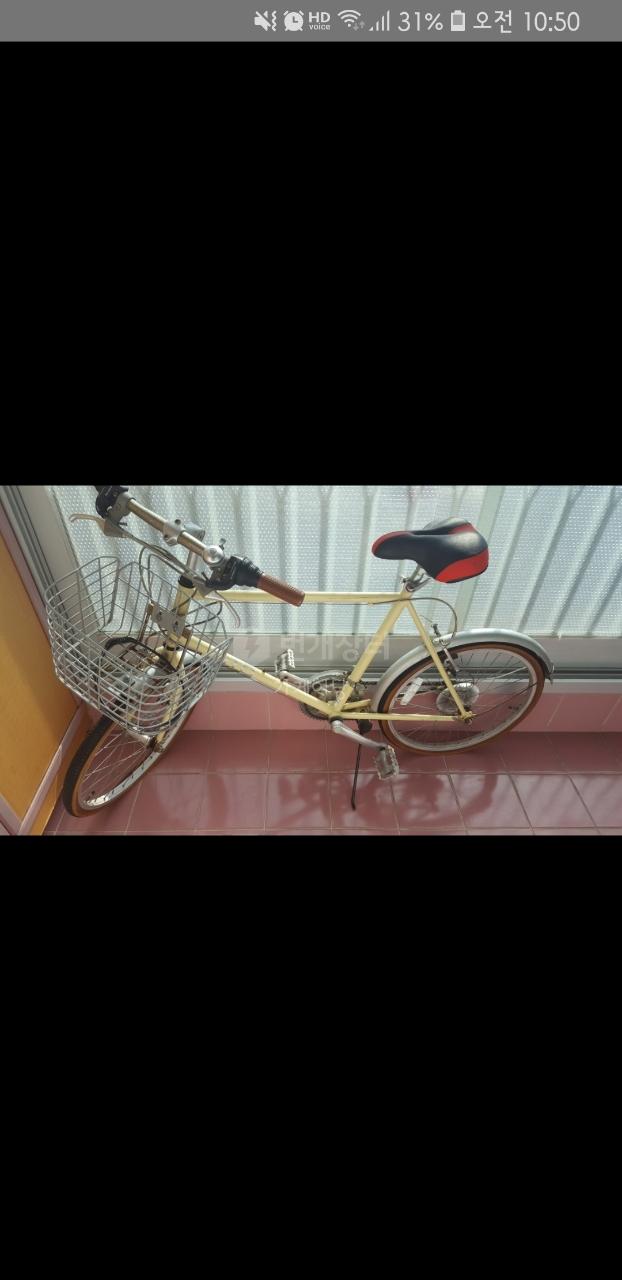 클래식자전거 바구니자전거