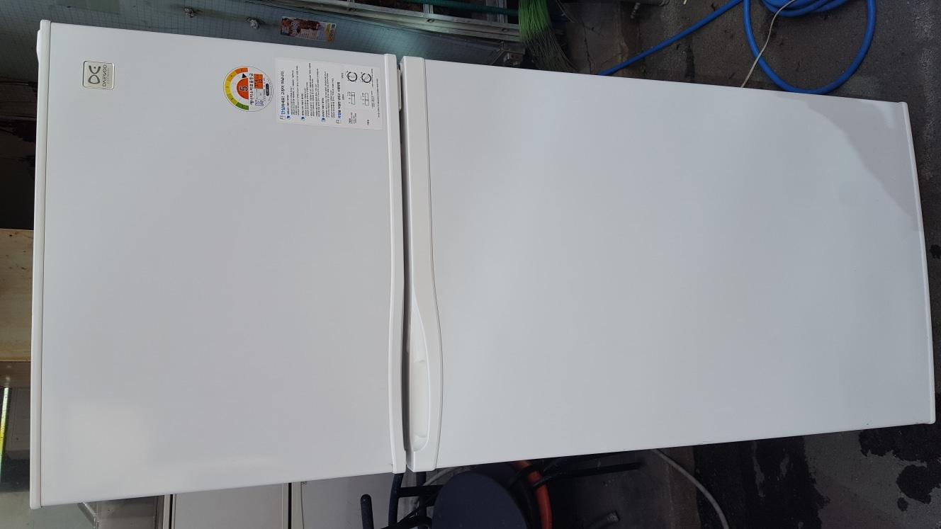 대우일렉트 350리터급 냉장고(신)