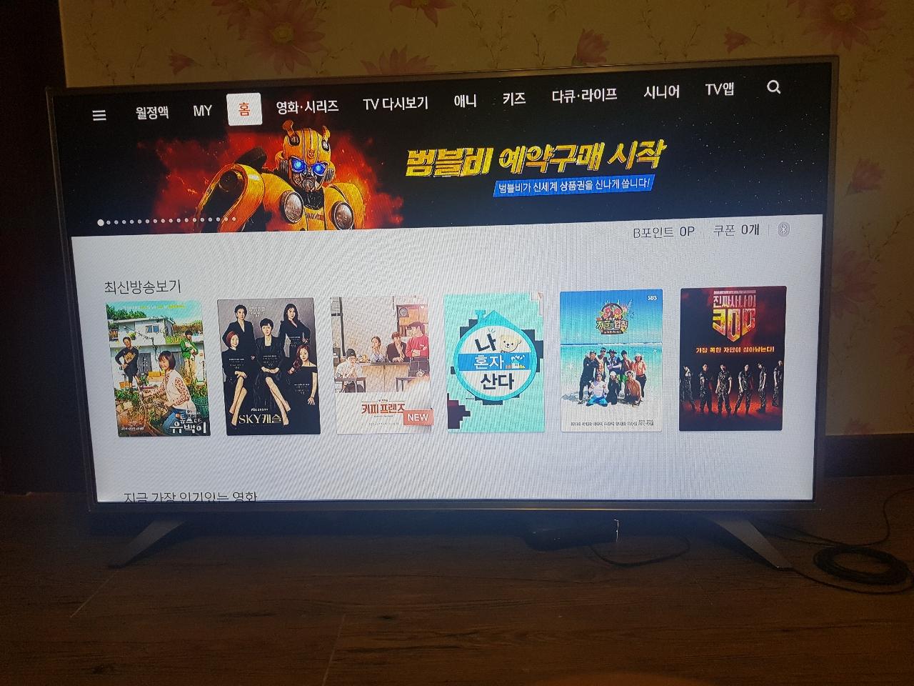 LG55인치 TV