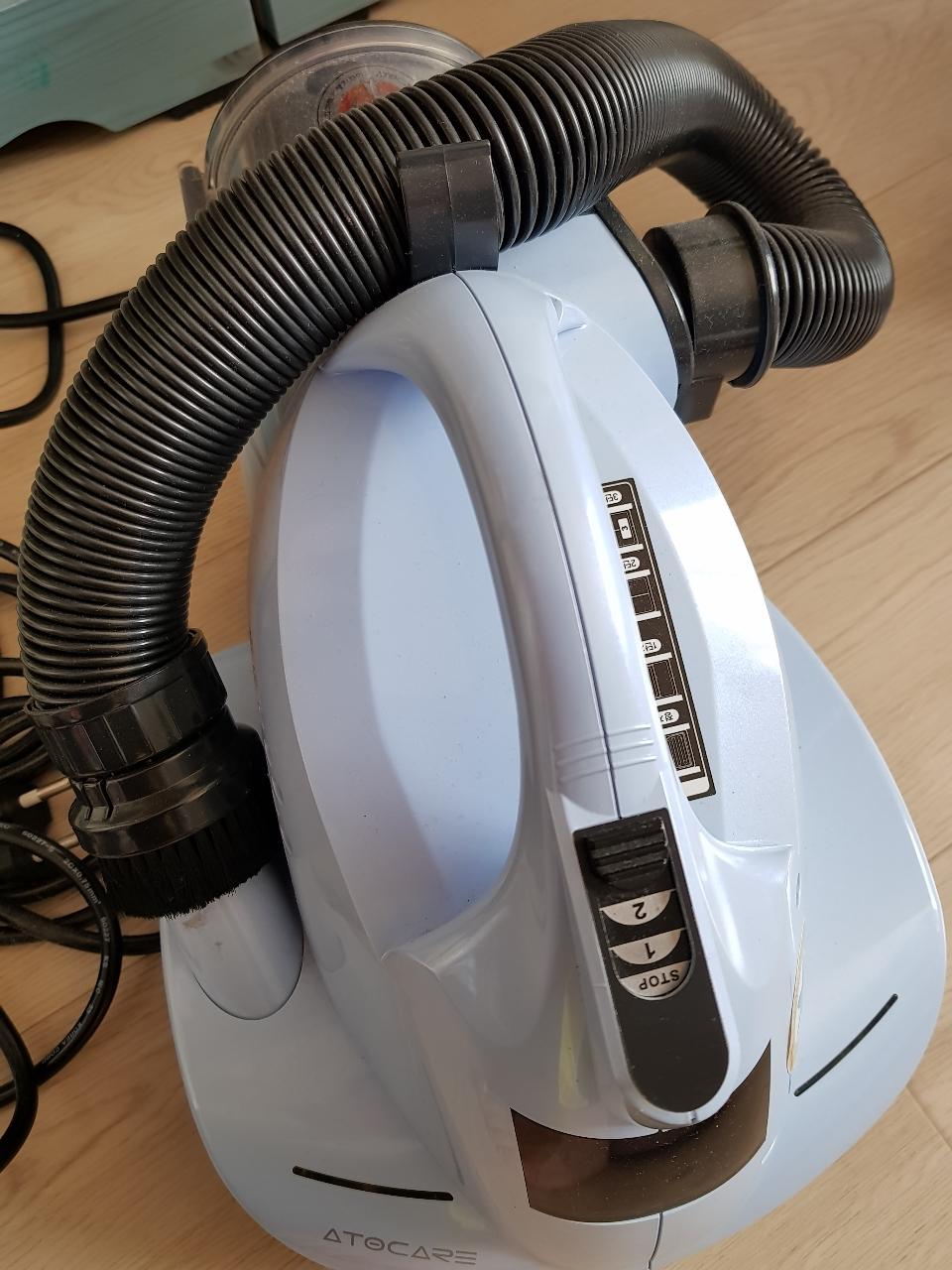 자외선  살균 진공 청소기( 이불청소기)