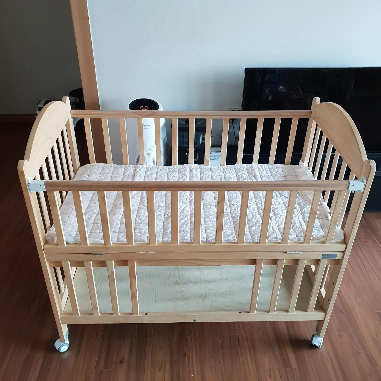 쁘띠라뺑 아기 침대