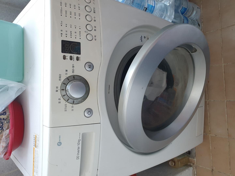 엘지 트롬 10kg 세탁기 싸게가져가세요