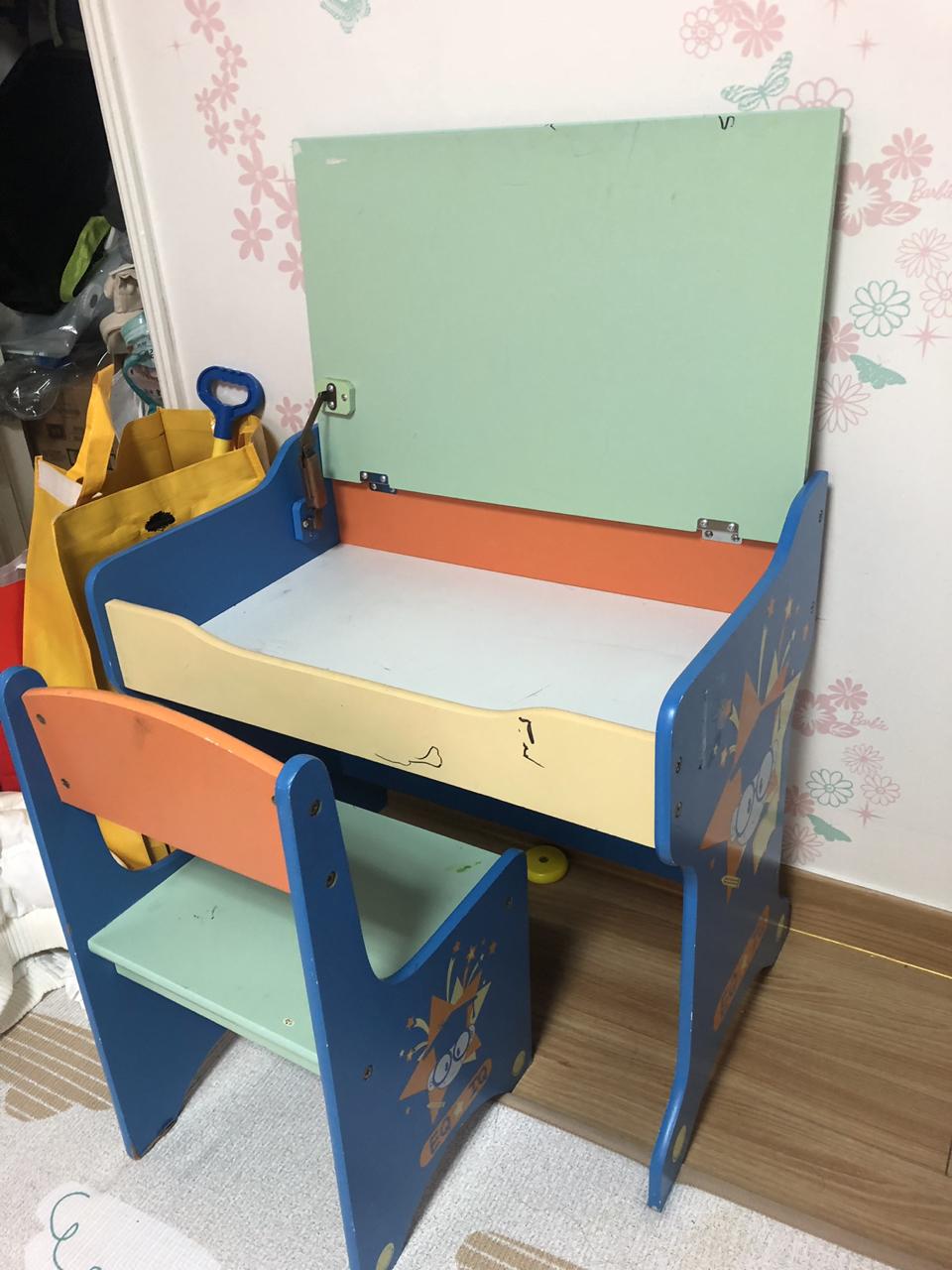 (무료/나눔)책상 의자 셋트