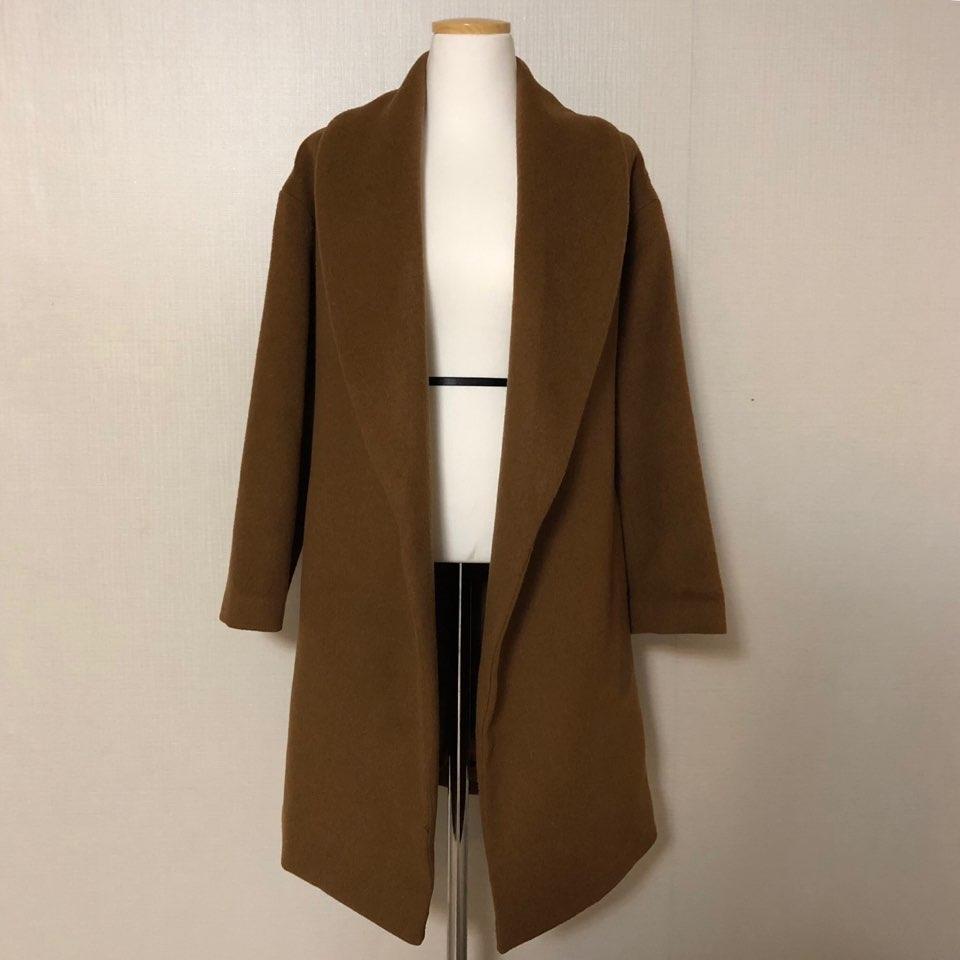 카멜색 코트예요(상태good)