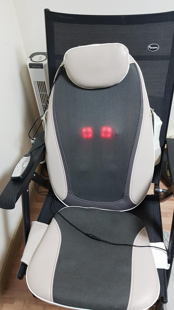 의자안마기와 의자