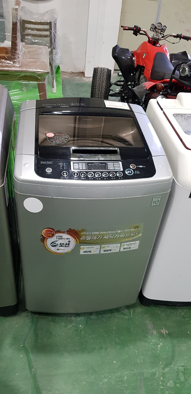 LG통돌이세탁기 13KG 파주중고세탁기