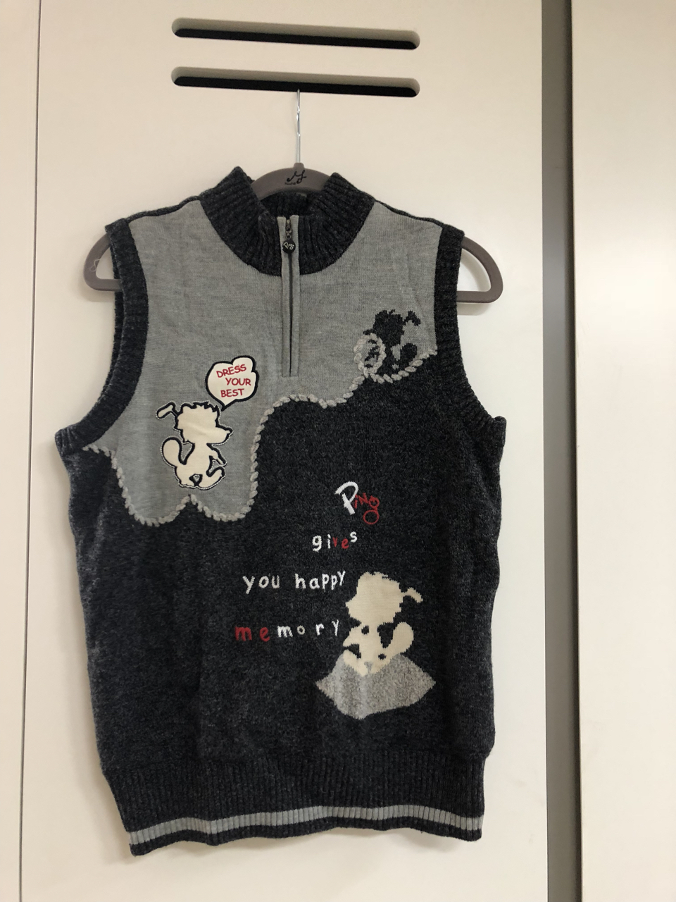 PING 여성 골프옷 상의 조끼 자켓 2pc 세트 95사이즈