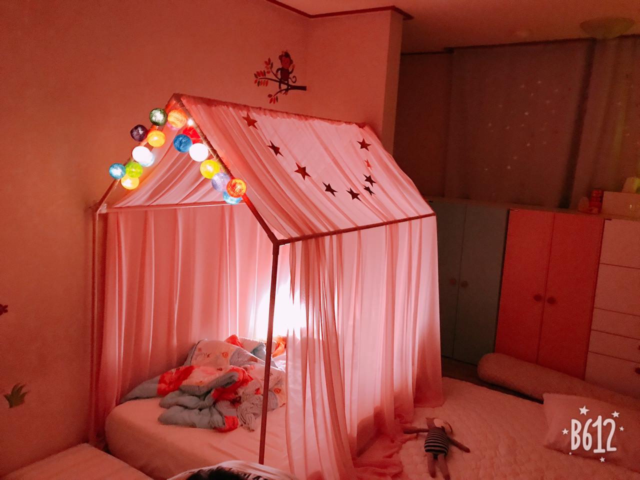 쁘띠메종 하우스 키즈 침대(XL사이즈)