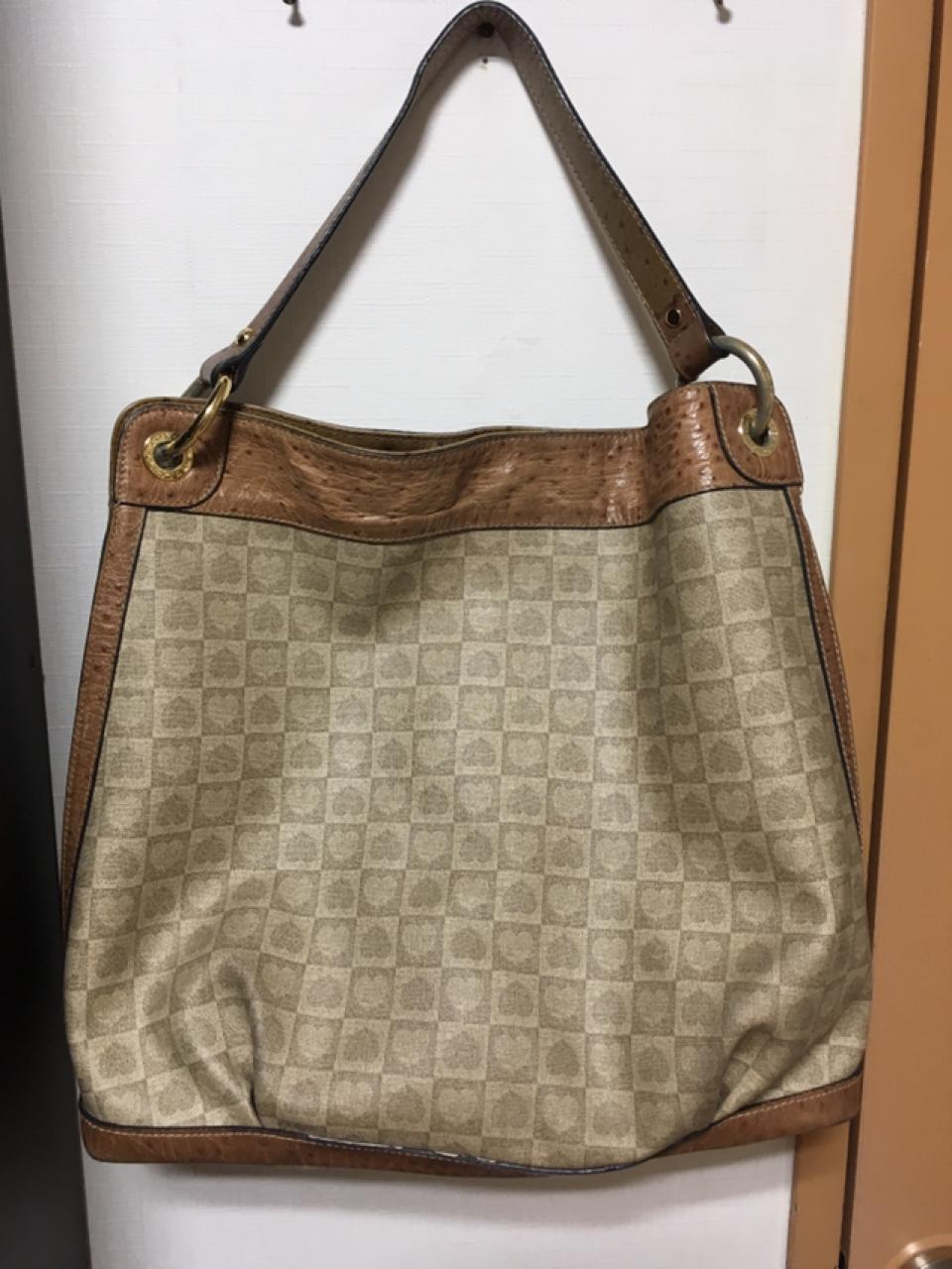 러브캣 가방 정품 타조가죽 숄더백 토트백 기저귀가방 여성가방 여자가방 가죽 가방
