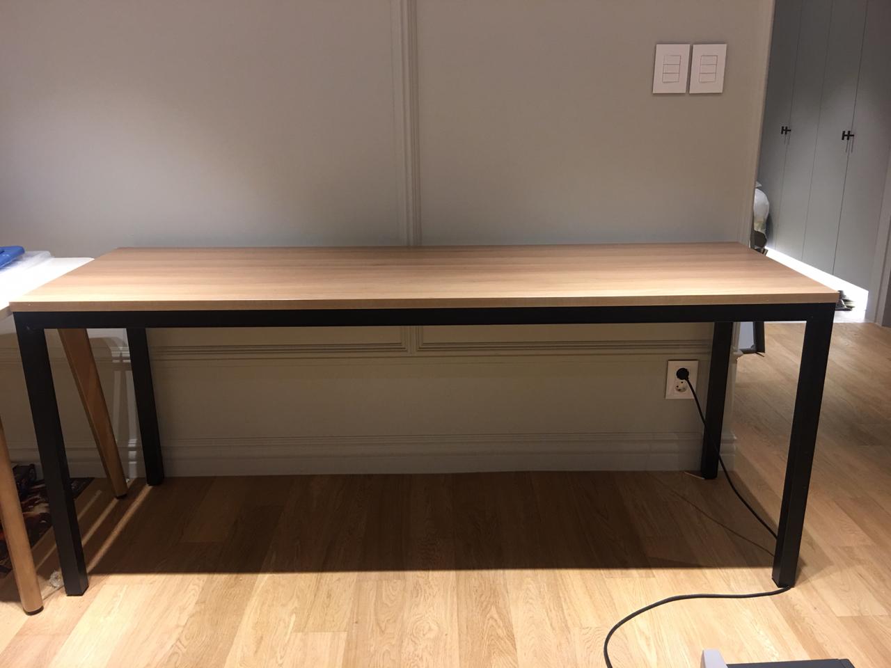 한샘 책상 160cm