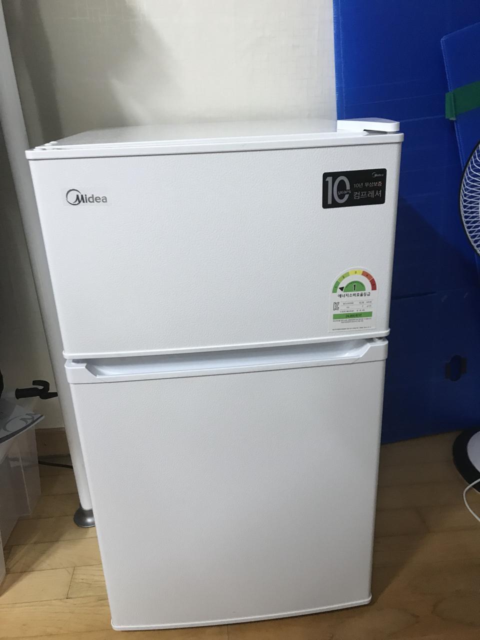 소형냉장고 2도어 87L 새제품 판매합니다