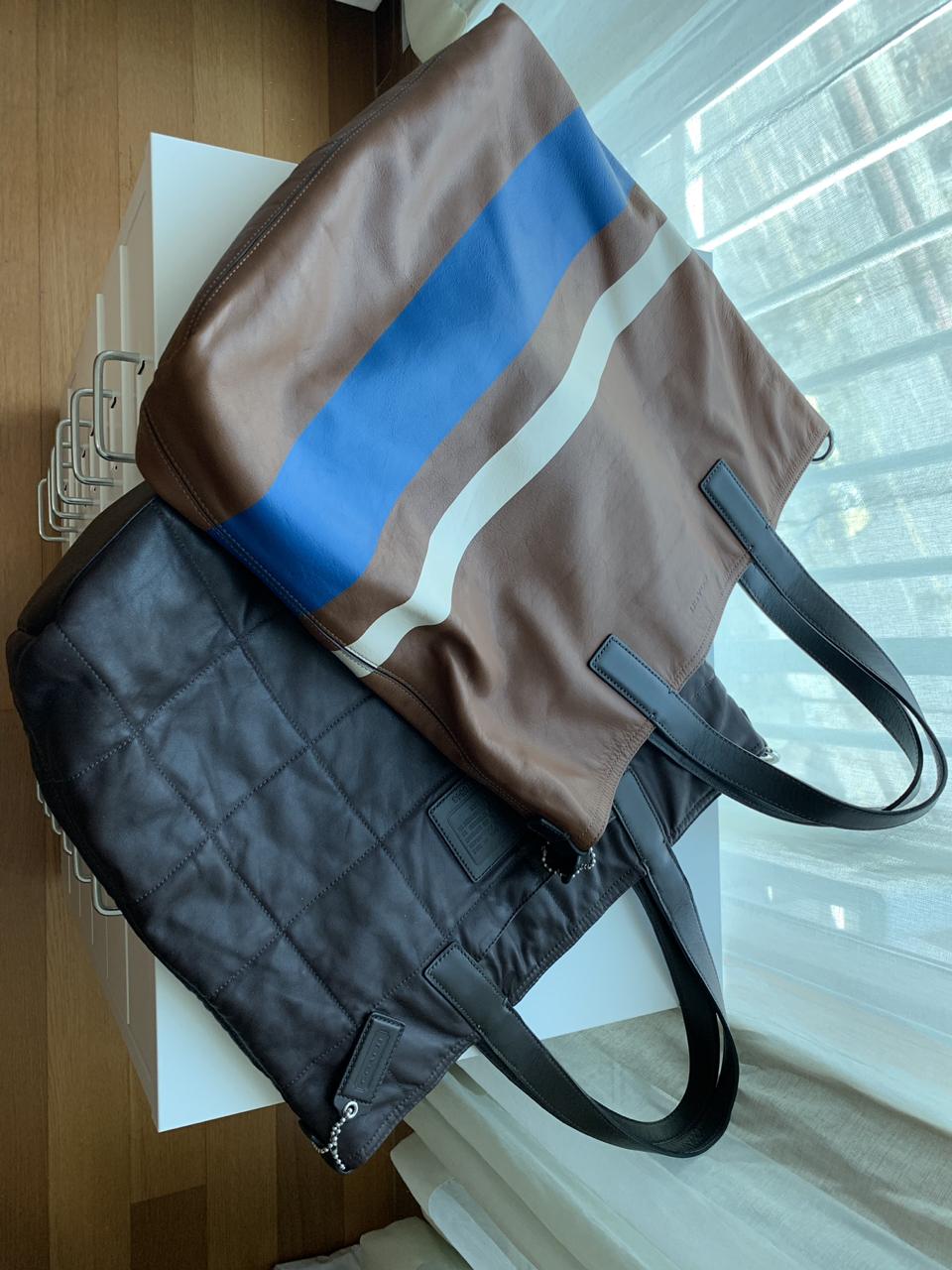 코치 양면 쇼퍼백 숄더백 기저귀 가방 대학생 가방