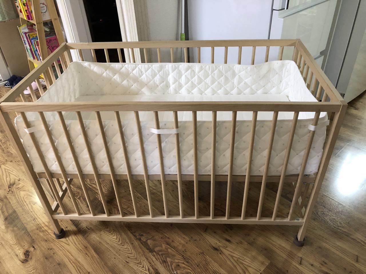 이케아 아기침대 원목 아기침대 스니글라르
