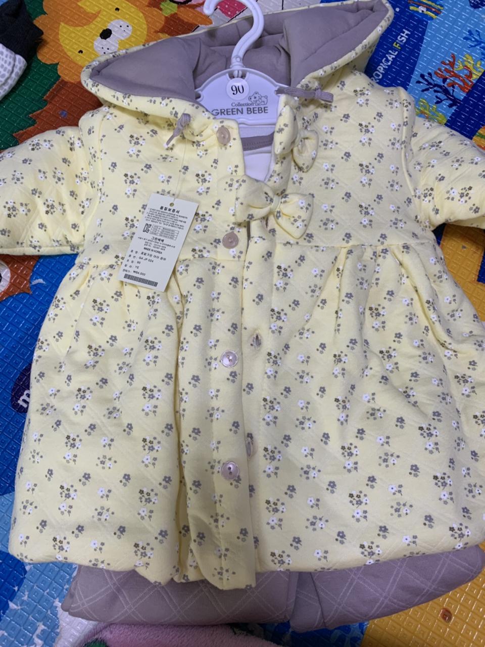 애기옷 80.90사이즈 3종세트 옷 판매