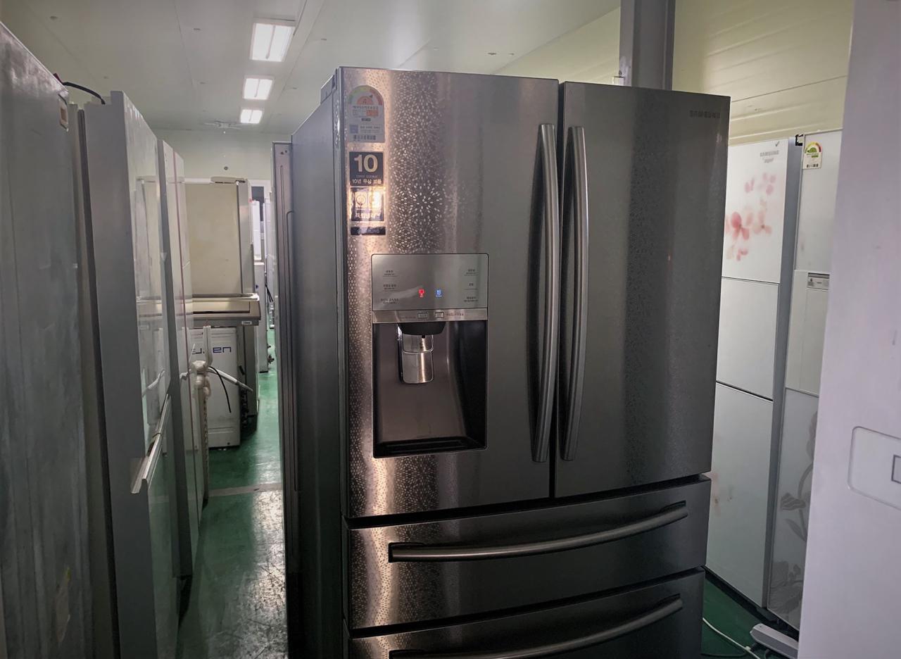 삼성 지펠 정수기 부착형 스파클링 양문형 홈바냉장고 90만원