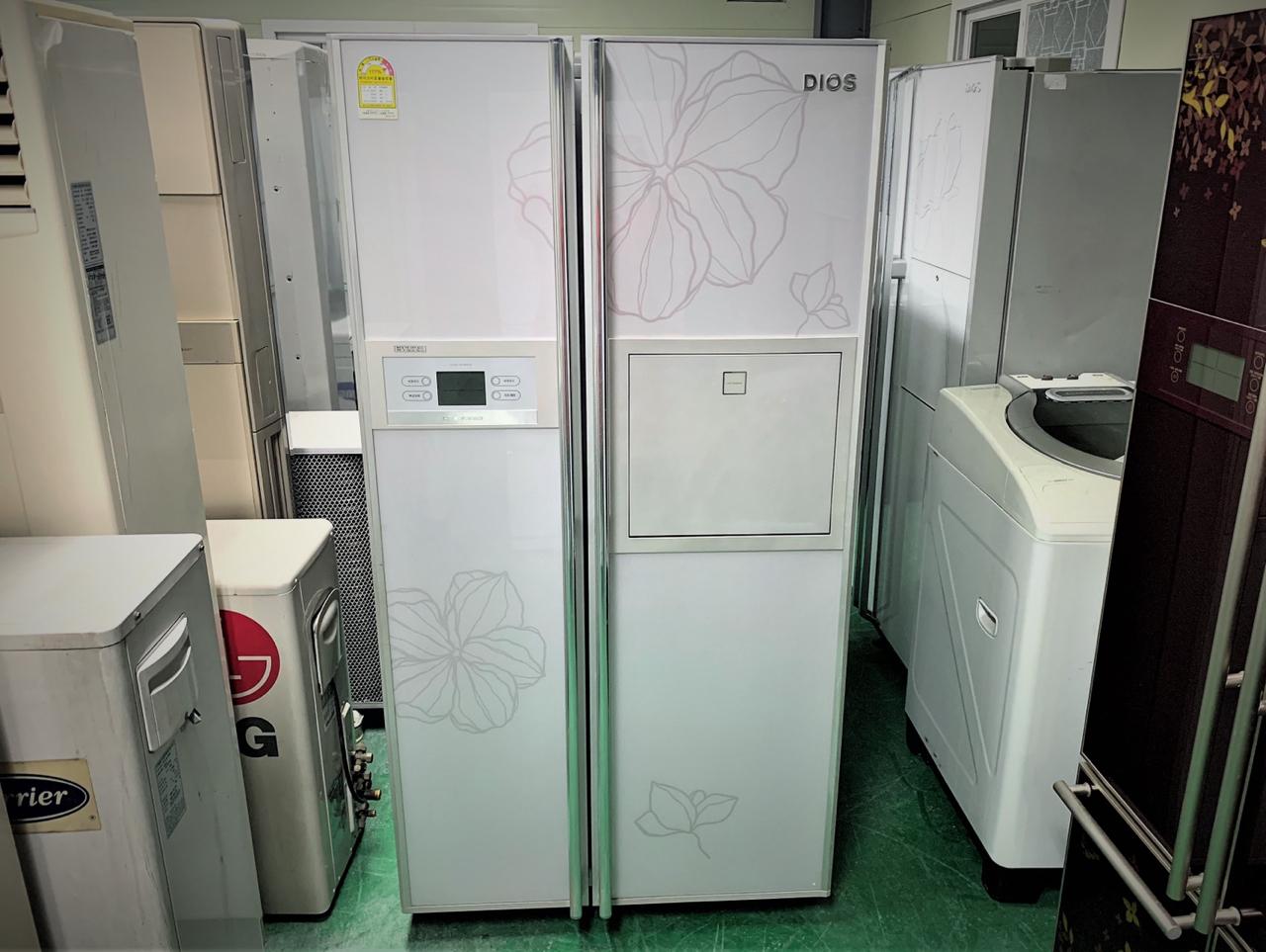 디오스 스왈로브스키 700리터급 양문형 냉장고