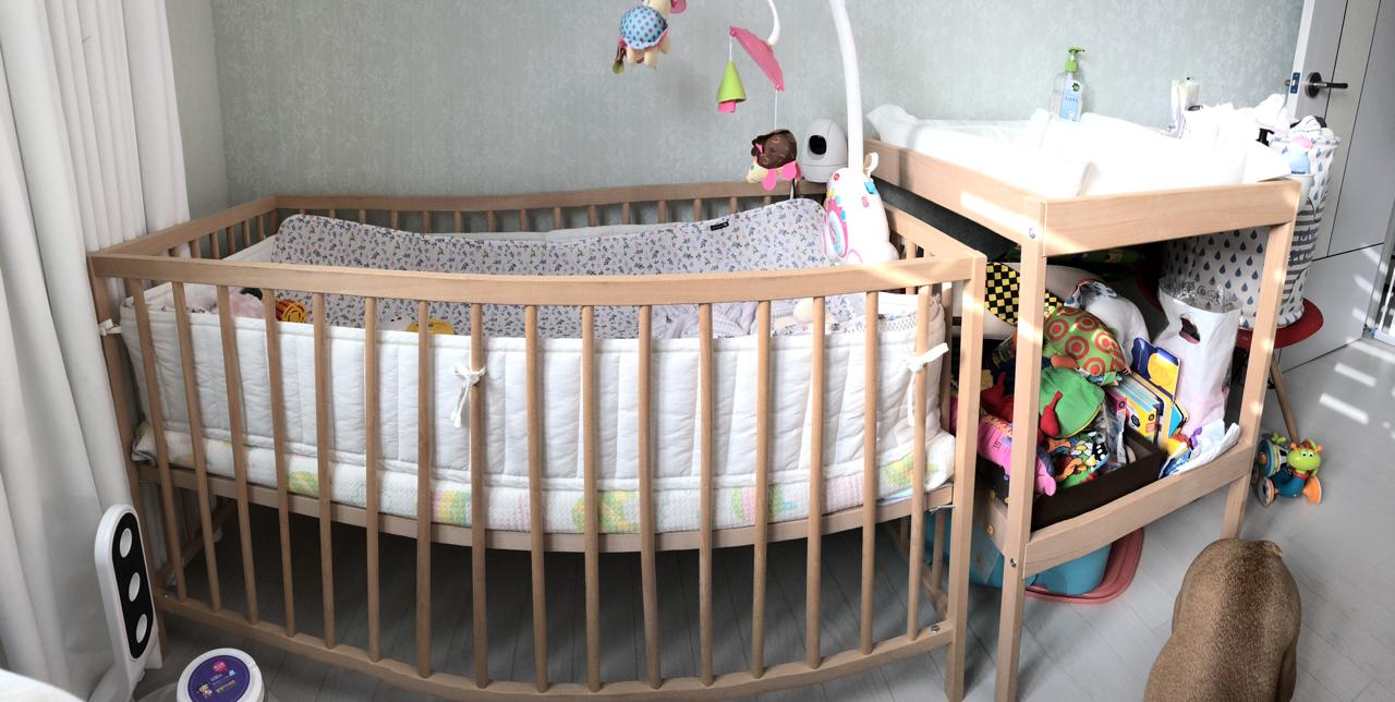 아기침대 (이케아스니글라르)
