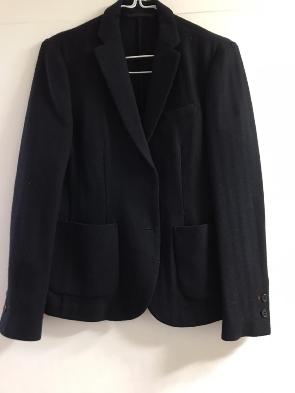 유니클로 겨울 자켓 검정자켓