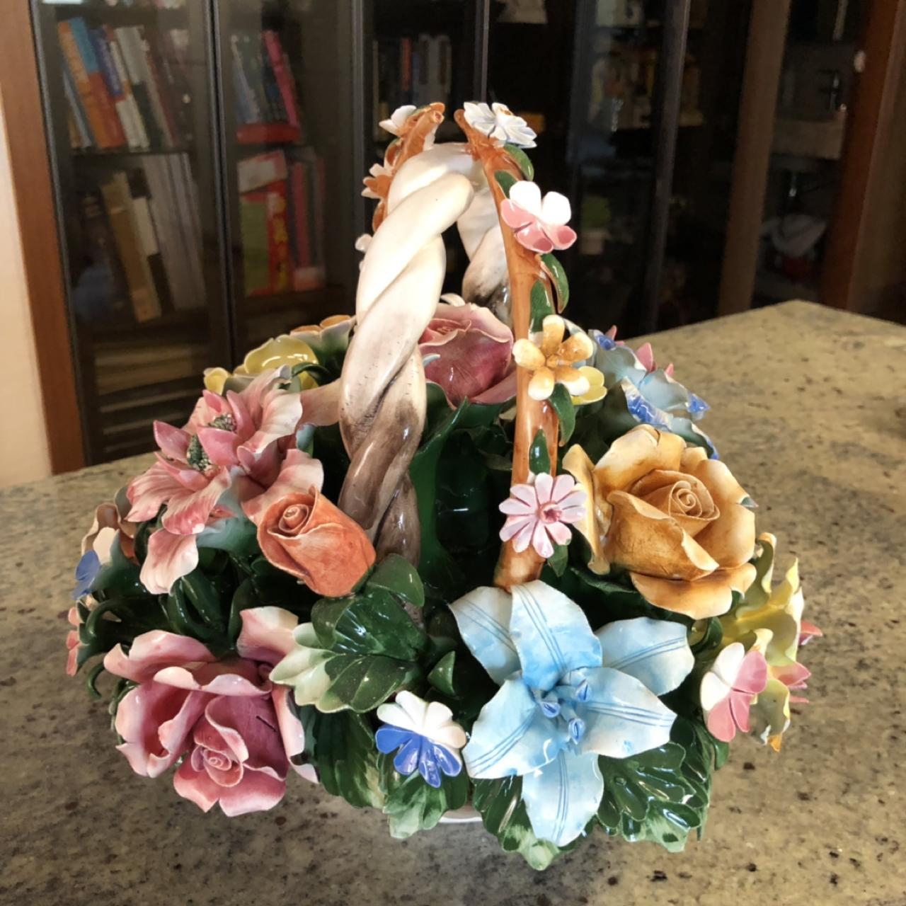 꽃 장식품