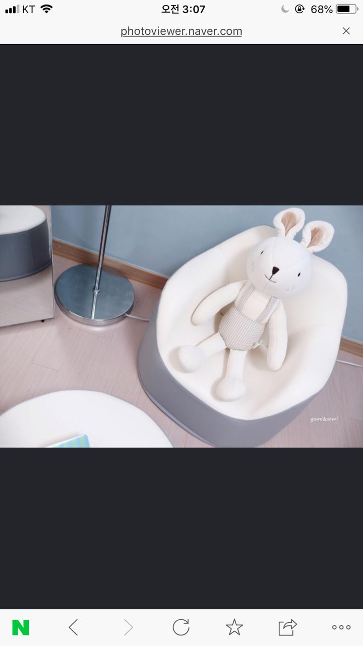 리에또 아기 쇼파 (새상품)