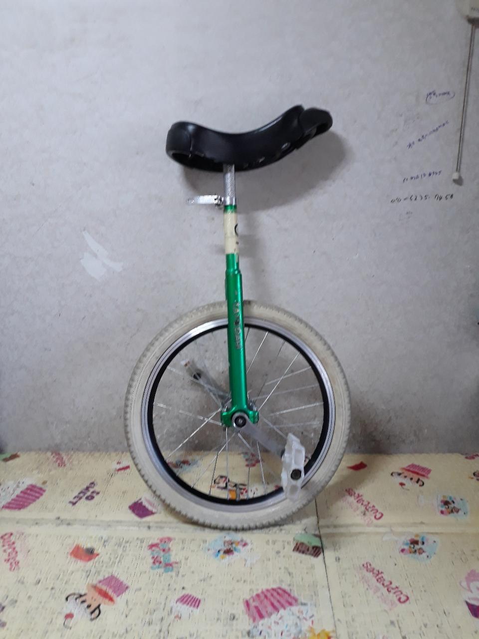 446번. 외발자전거. 바퀴하나 자전거, TA-DAH