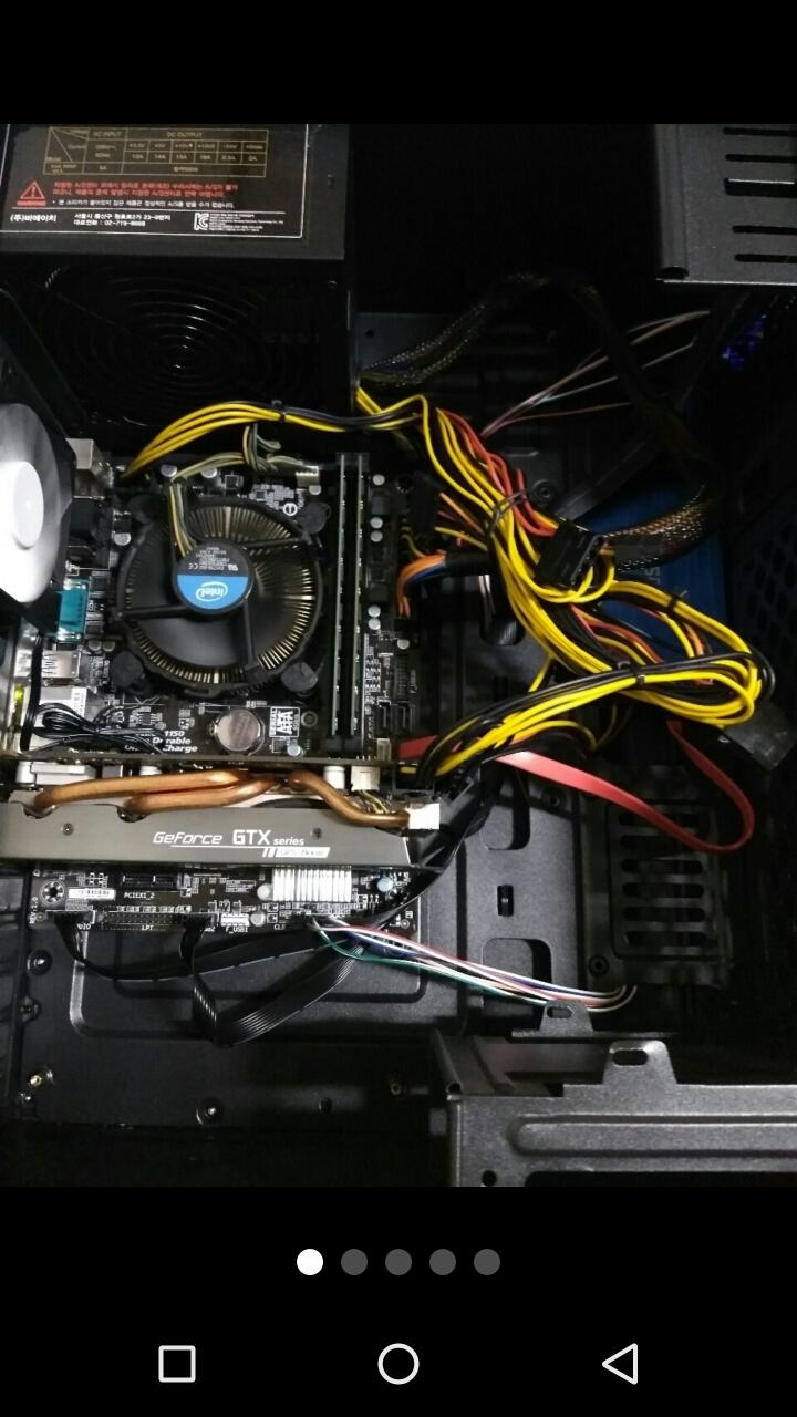 i3-4130 gtx960 ssd 배그 로아 롤 옵치 컴퓨터 본체