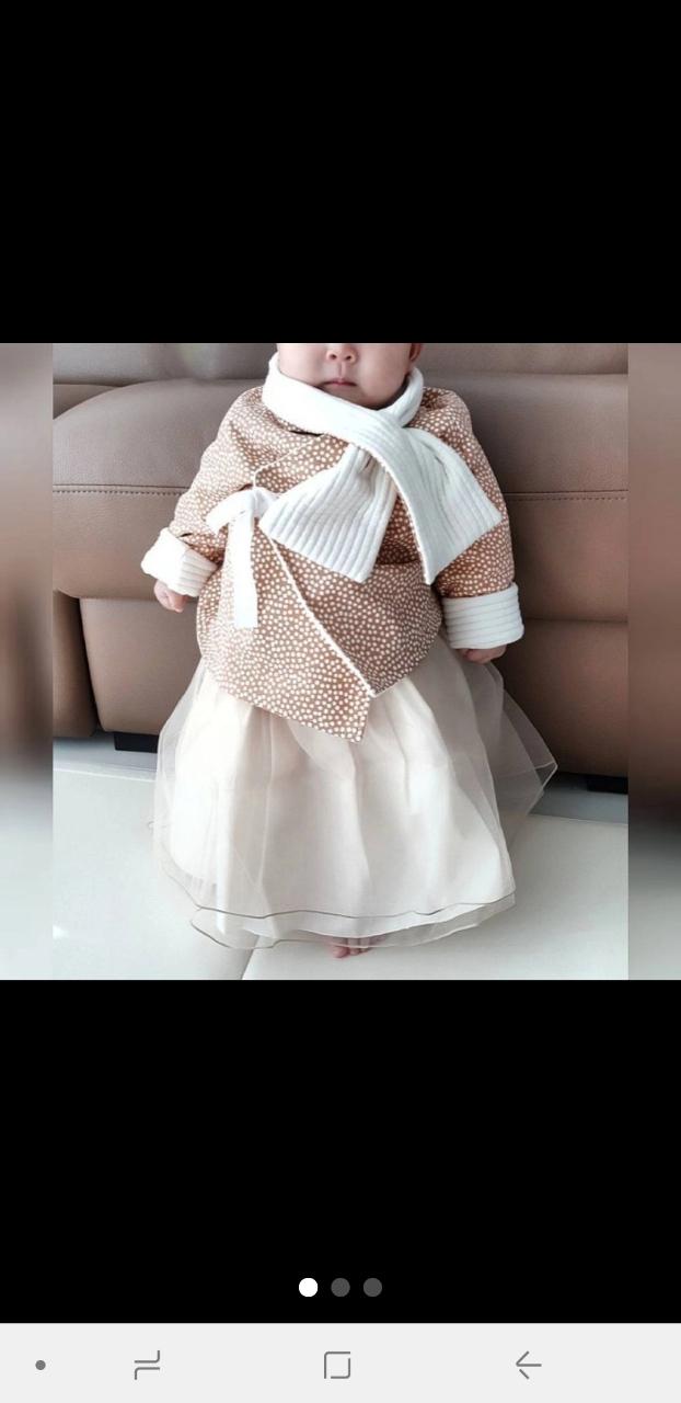 여자한복 아기개량한복
