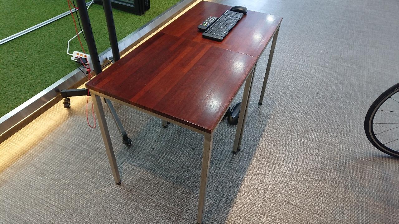 멀바우 상판 테이블