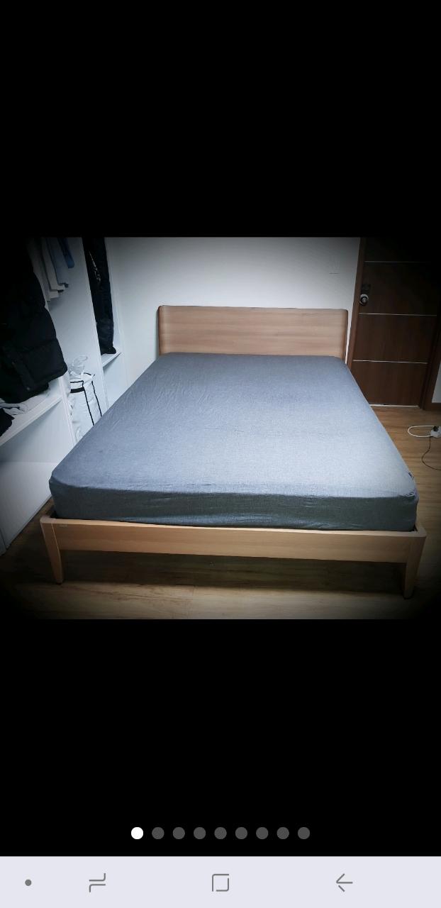 일룸 침대 (퀸)