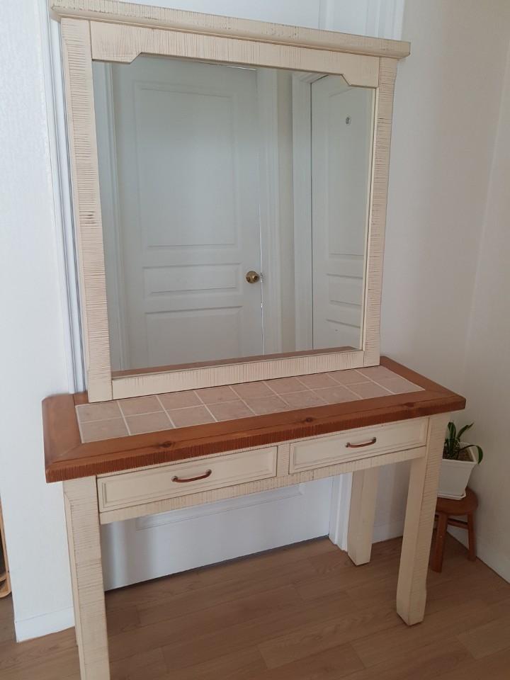 빈티지데코 화장대 및 거울