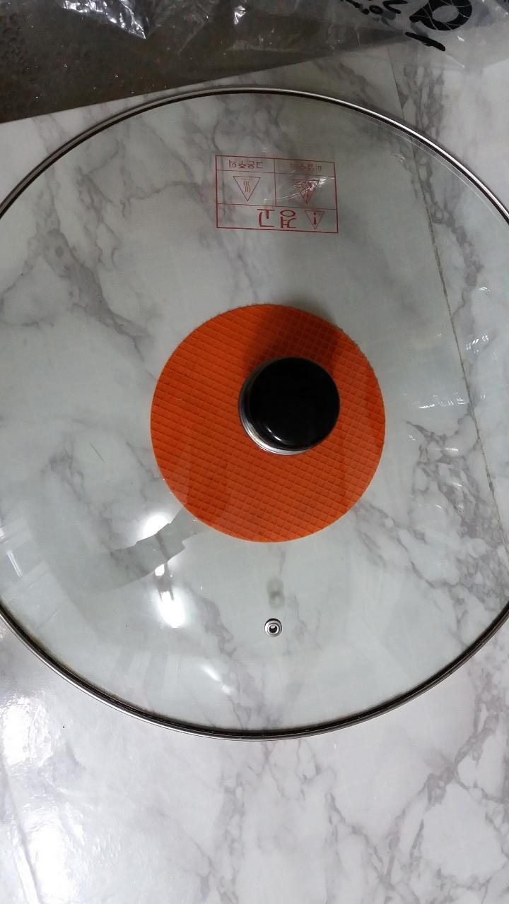 강화 유리뚜껑 40cm
