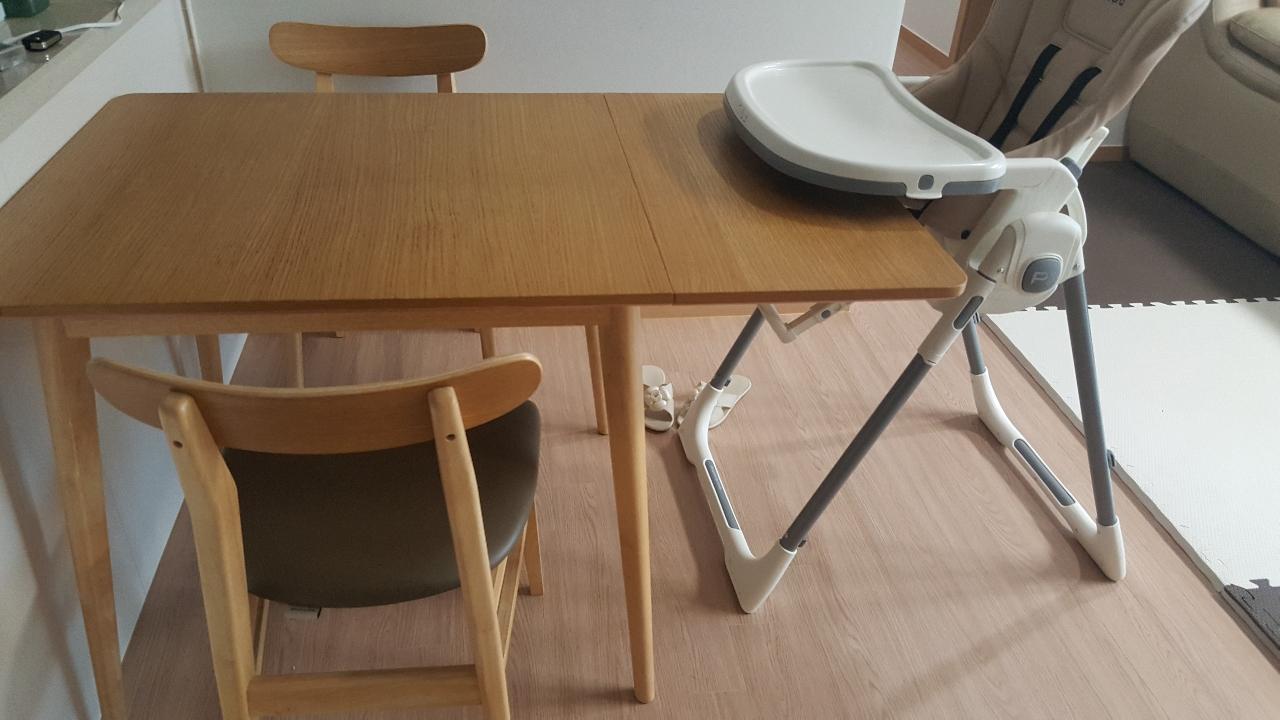 한샘2-4인식탁(의자포함)