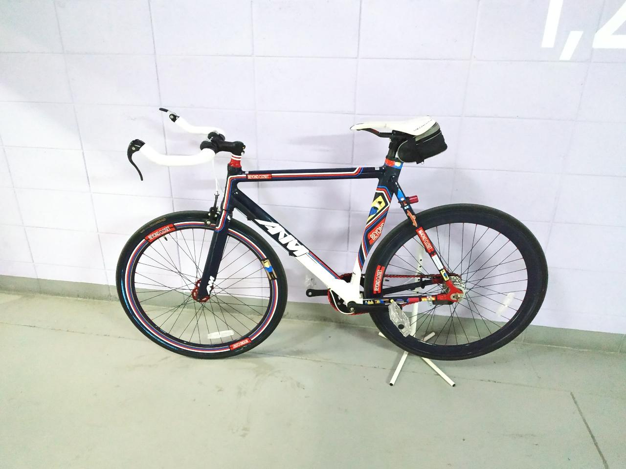 픽시 스타일 자전거
